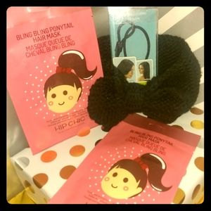 Ear Warmers w/ Hair Mask and an Accessorie